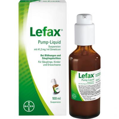 LEFAX Pump Liquid (lichid cu pompita) - 100 ml ameliorarea colicilor bebelușilor foto