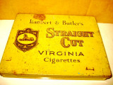 7730-Cutie Tigarete Virginia Straight Cut Isanbert& Butlers metal.
