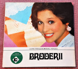 Broderii (broderia alba manuala) - Liliana Podoleanu, Mihail Popescu, Alta editura, 1988