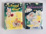 * Lot 2 carti copii, limba germana, coperti buretate, pagini groase de carton