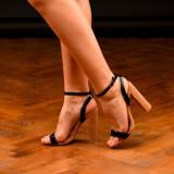 Sandale dama cu toc