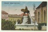 cp Cluj - circulata 1921,timbre