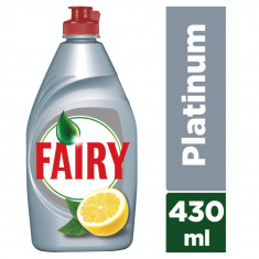 Detergent Vase FAIRY Platinum Lemon Lime 430ml
