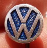 I.997 INSIGNA STICKPIN GERMANIA AUTO VW VOLKSWAGEN 8mm