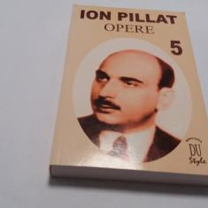 ION PILLAT OPERE, VOL. 5   MARTURISI/ PORTRTE de CORNELIA PILLAT, 2001 RF18/3