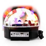 Glob Disco Jocuri de Lumini cu MP3 Player Bluetooth si Telecomanda