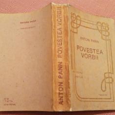 Povestea Vorbii. Editura Facla, Timisoara 1991 - Anton Pann