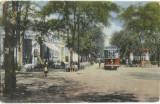 AMS# - ILUSTRATA/VEDERE STATIA TRAMVAIULUI LACU-SARAT 1916 CIRCULATA, Printata