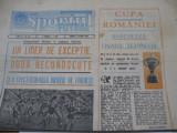 Sportul Supliment Fotbal (10 06 1986),Cupa Romaniei, Jiul-Steaua,Victoria-Dinamo
