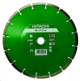 Disc diamantat pentru beton Hitachi, 230 x H22,23 MM