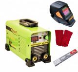 Set Aparat sudura invertor Procraft 330A, 1-6mm + Masca +Electrozi +Palmari