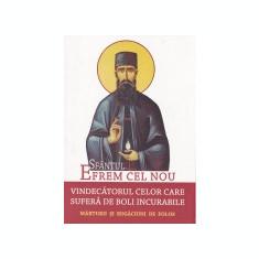Sfantul Efrem cel Nou: vindecatorul celor care sufera de boli incurabile