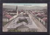 SIGHETU MARMATIEI  VEDERE  GENERALA  CIRCULATA 1915