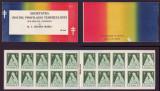Romania 1931 - Carnet de timbre binefacere Asistenta Tuberculosilor Regina Maria