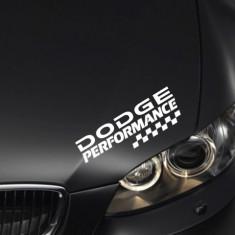 Sticker Performance - DODGE