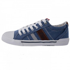 Tenisi barbati, din textil, marca s.oliver, 5-13601-20-41, blue 43
