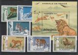 Fauna animale de prada ,nr lista 1532/3 , Romania ., Nestampilat