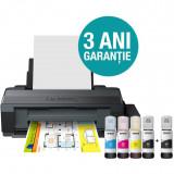 Imprimanta Epson ITS L1300, InkJet, Color, Format A3+