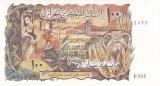 Bancnota Algeria 100 Dinari 1970 - P128b UNC