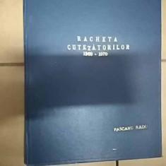 Racheta Cutezatorilor 1969-1970 - Pascaru Radu ,549907