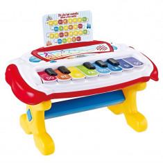 Mini orga pentru copii Learning Fun, 16 melodii
