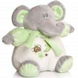 Plus Bebe Elefantel 15 cm cu Zornaitoare Vernil