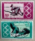 Germania  Jocuri Olimpice de vară 1976 - Montreal, Înot liber Salt în înălțime, Sport, Stampilat