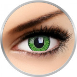 Cumpara ieftin Bright Green - lentile de contact colorate verzi trimestriale - 90 purtari (2 lentile/cutie)