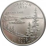 USA/SUA, quarter dollar 2005_Oregon_George Washington * cod 217, America de Nord