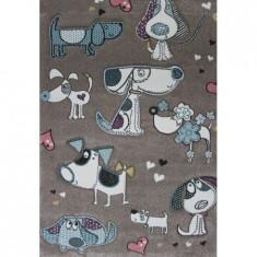 Covor MERINOS, Pastel Kids 21897 70 Beige, 160 x 230 cm, densitate covor 3 KG/m², grosime covor 13 mm, numar noduri pe m² 290000