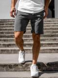 Pantaloni scurți de trening dame grafit Bolf DK11001