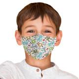 Cumpara ieftin Masca reutilizabila din textil pentru copii 6-9ani, Robot