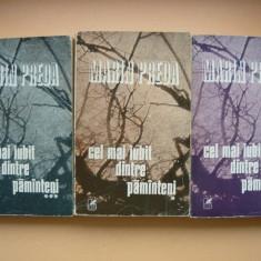 MARIN PREDA - CEL MAI IUBIT DINTRE PAMANTENI ( 3 volume, prima editie ) - 1980
