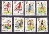 Rwanda 1982 sport fotbal MI 1179-1186 MNH w62, Nestampilat