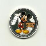 Noua Zeelanda - MICKEY MOUSE - Medalie PROOF