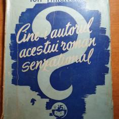 ion minulescu - cine este autorul acestui roman senzational 1943