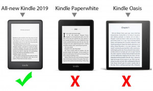 Husa Amazon All-new Kindle 2019 + folie protectie display