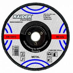 Disc pentru taiat metal 85 mm x 1 mm x 10 mm RAIDER