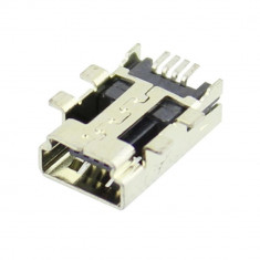 Conector mini USB, SMT, ECE - 004377