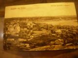 Ilustrata clasica - Salutari din Tulcea - Vedere generala , inc.sec.XX, Necirculata, Printata