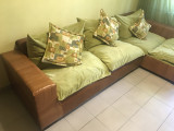 Mobila lemn masiv living+ dormitor