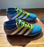 Crampoane de fotbal cu șosetă, 42, Albastru, Adidas