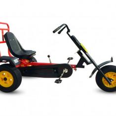 Kart cu pedale Dodo FTF 150-1 cu un loc,roti din cauciuc cu camera,pentru juniori si adulti