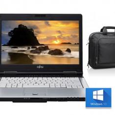 Laptop I7 3520M FTS LIFEBOOK S792 + WINDOWS 10 + Geanta CADOU, Intel Core i7, 8 Gb, 320 GB