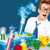Experimentele micului geniu Chimie distractiva Lisciani, 8 ani+, 25 experimente