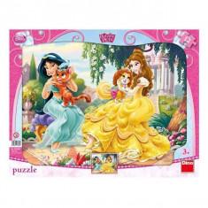 Puzzle - Printese cu animalute (12 piese)