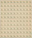 1906 Romania Asociatiunea Astra Sibiu coala mare ORIGINALA de 100 timbre fiscale