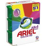 Detergent capsule Ariel All in One PODS Color, 45 spalari