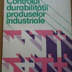 Controlul Durabilitatii Produselor Industriale - V.gh. Voda ,291902