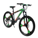 "Bicicleta MTB Tornado, cadru otel 17"", roti 26 inch, 21 viteze, schimbator Shimano, suspensii pe furca, jante aluminiu, Phoenix"